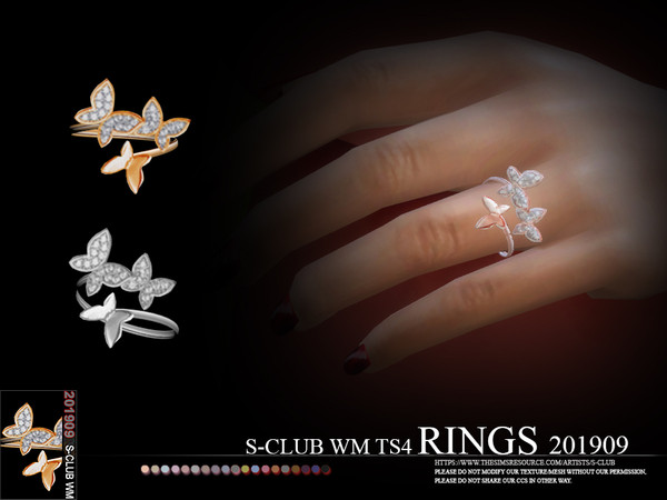 S-Club ts4 WM RINGS 201909