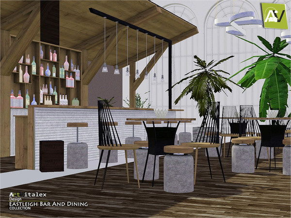 Eastleigh Bar And Dining by ArtVitalex