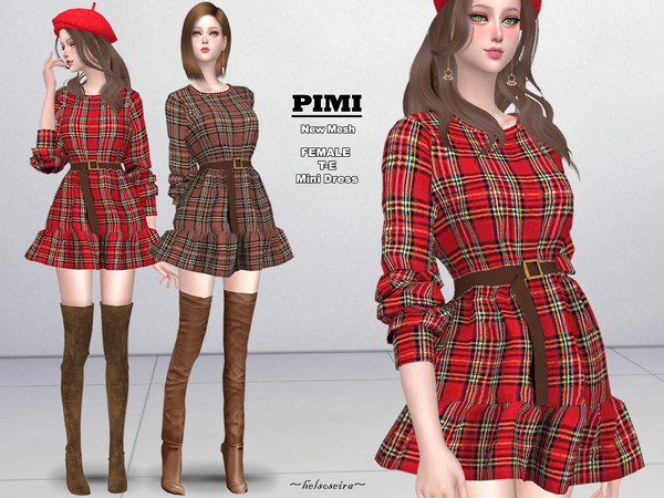 PIMI - Mini Dress by Helsoseira