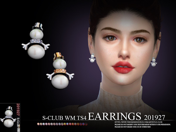 S-Club ts4 WM EARRINGS 201927