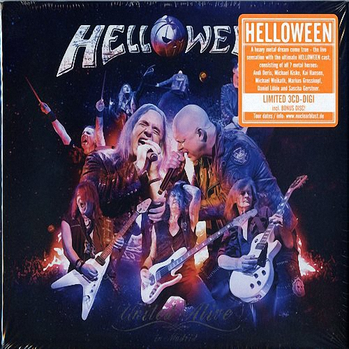 Helloween - United Alive In Madrid / [3CD-DIGI] [2019, Power Metal, MP3]