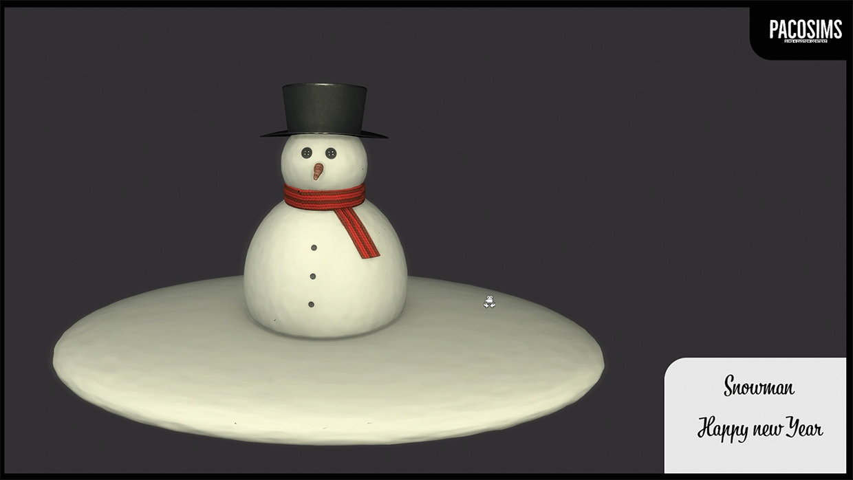 Snowman by PacoSims
