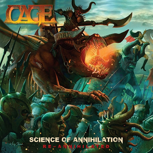 Cage - Science of Annihilation-Reannihilated / [2019, Heavy Metal, Power Metal, MP3]
