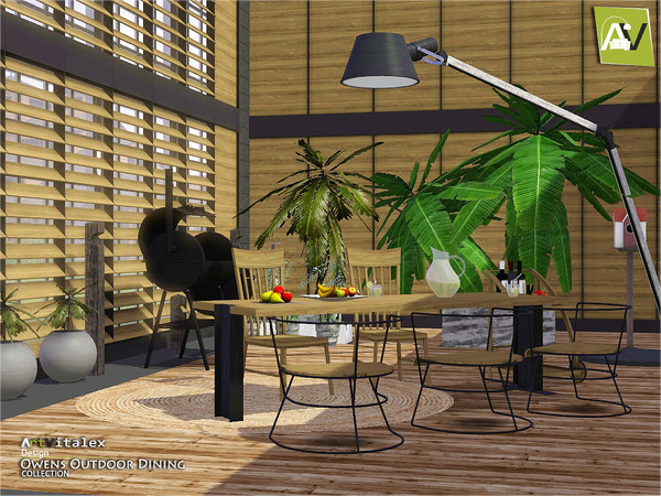 Owens Outdoor Dining by ArtVitalex