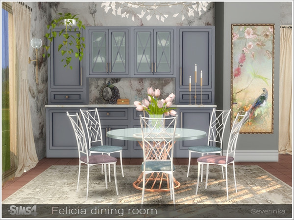 Felicia dining room by Severinka
