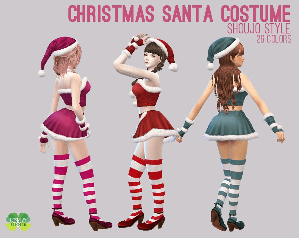 Christmas Santa Costume by Cosplay Simmer
