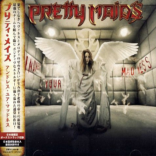 Pretty Maids - Undress Your Madness (Japanese Edition) / [2019, Melodic Heavy Metal, MP3]