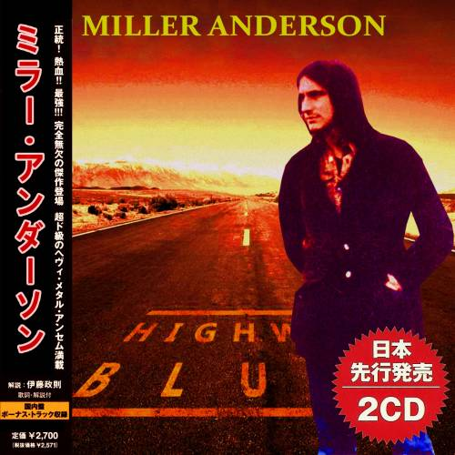 Miller Anderson - Highway Blues (Compilation) / [2019, Blues Rock, MP3]