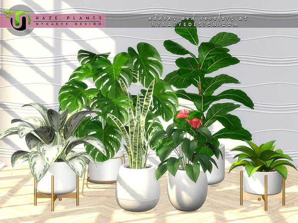 Haze Plants by NynaeveDesign