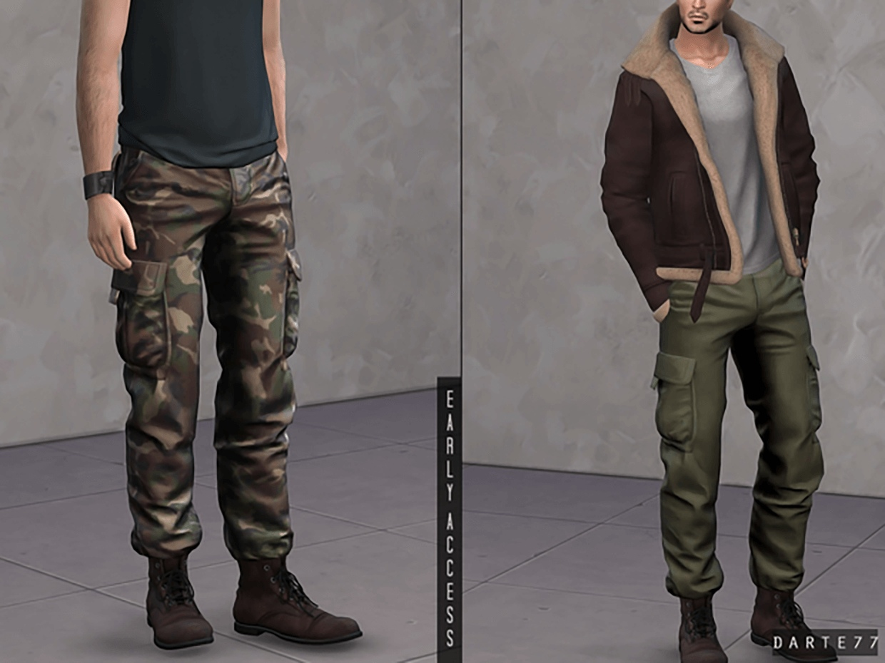 Military Pants by Darte77