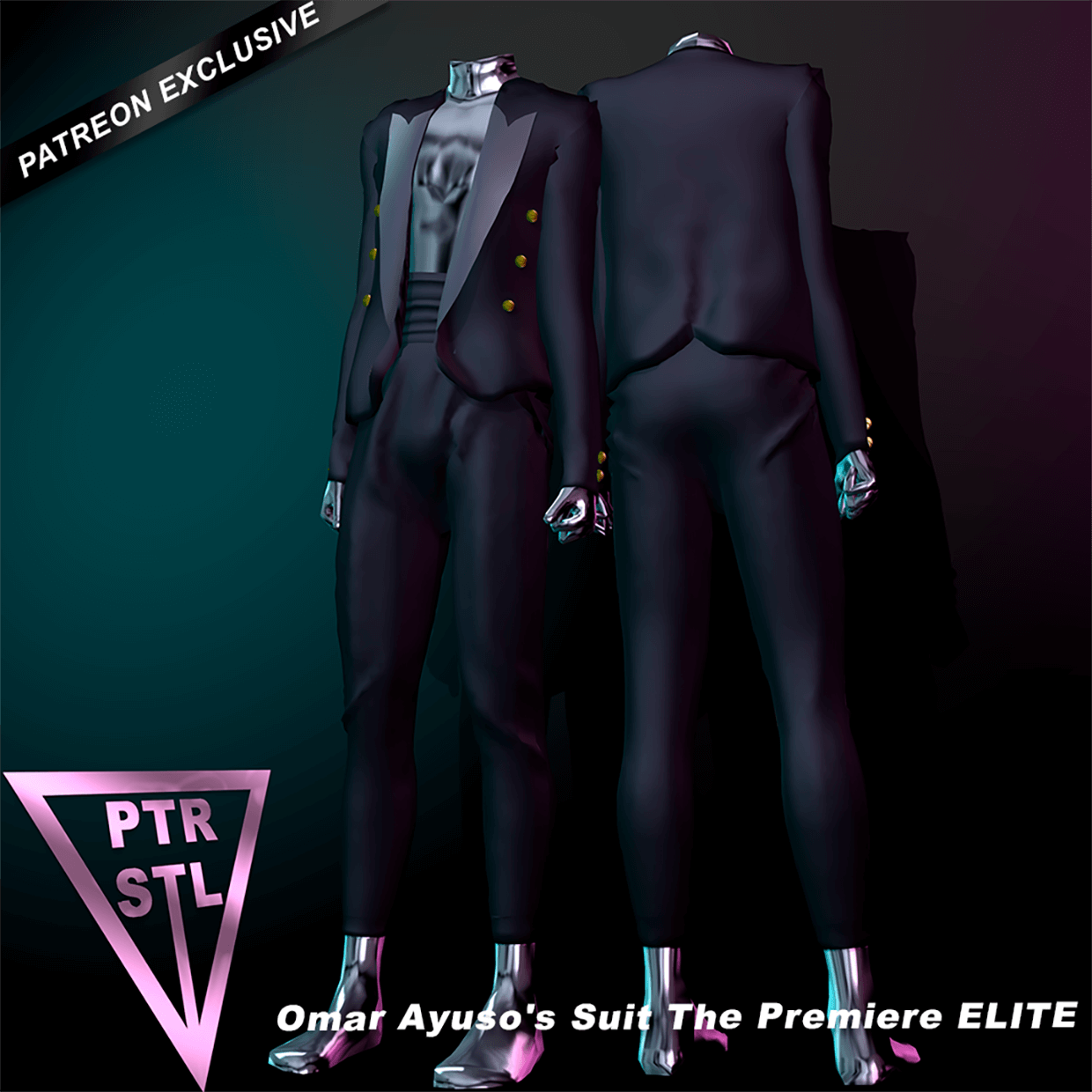 Omar Ayuso's Suit The Premiere ELITE by Pietro's Style