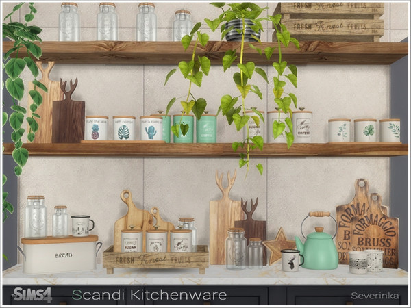 Scandi Kitchenware by Severinka