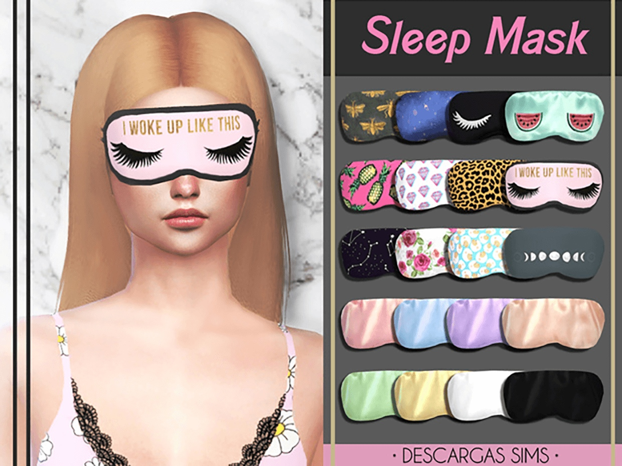 Sleep Mask by Descargas