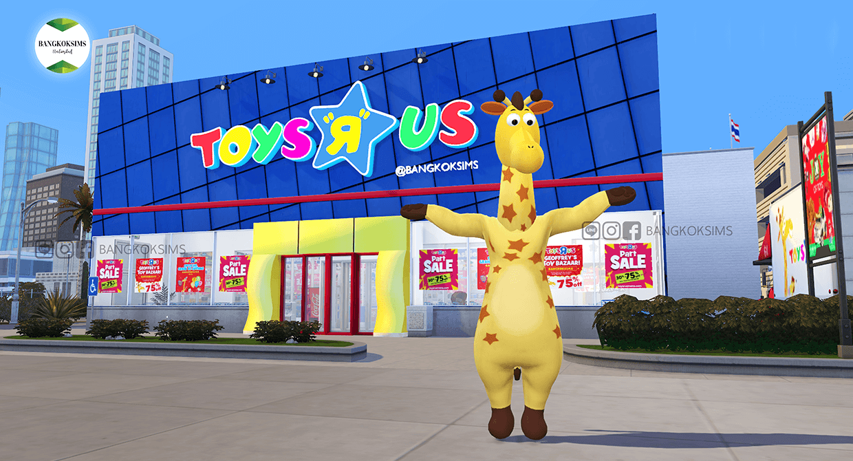 Toys R Us Patreon by Bangkoksims