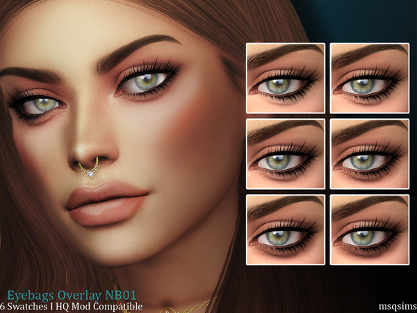 Eyebags Overlay NB01 by MSQSIMS
