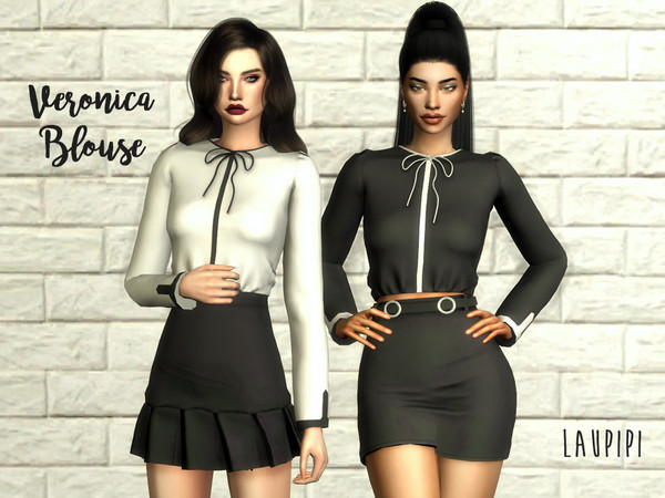 Veronica Blouse by laupipi