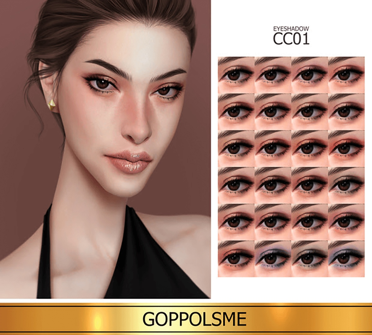 Eyeshadow CC 01 by GoppolsMe