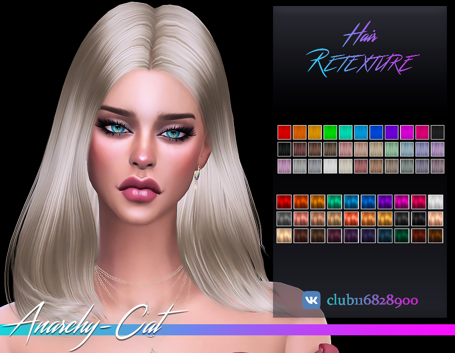 Simpliciaty_Marina Hair by Anarchy-Cat
