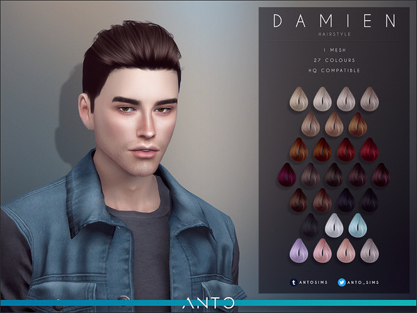 Anto - Damien (Hairstyle)