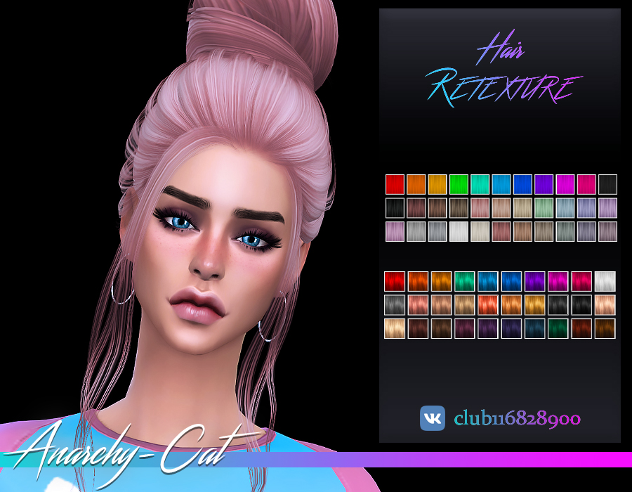 Simpliciaty_Grace Hair by Anarchy-Cat