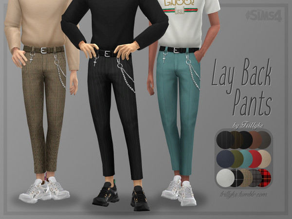 Trillyke - Lay Back Pants
