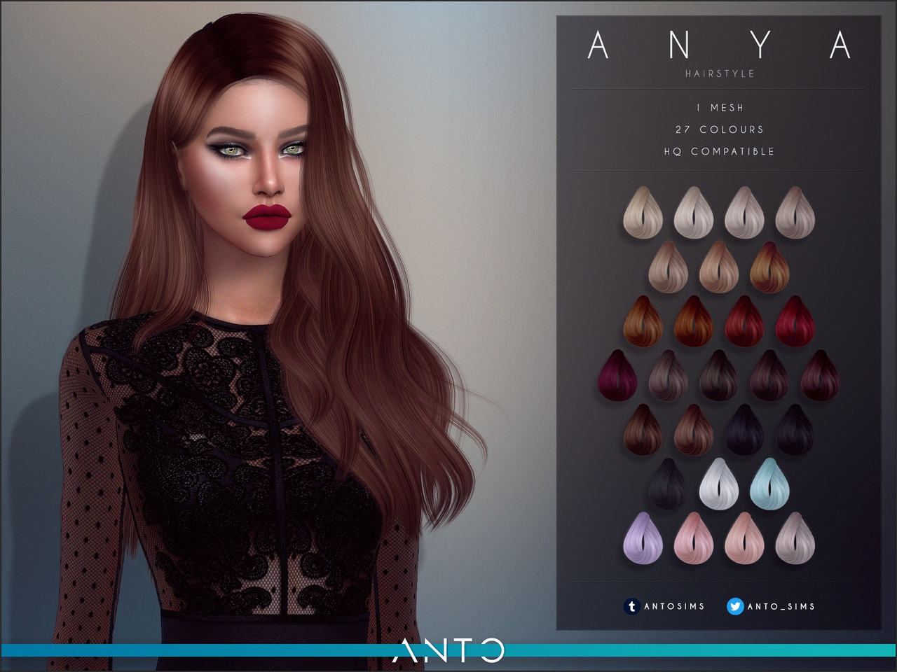 Anya Hairstyle by Anto
