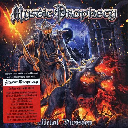 Mystic Prophecy - Metal Division (2CD) / [2020, Heavy Metal, Power Metal, MP3]