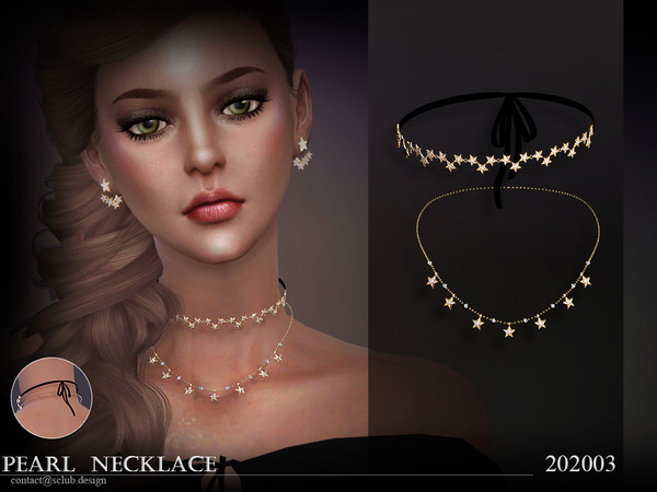 S-Club ts4 LL Necklace 202003