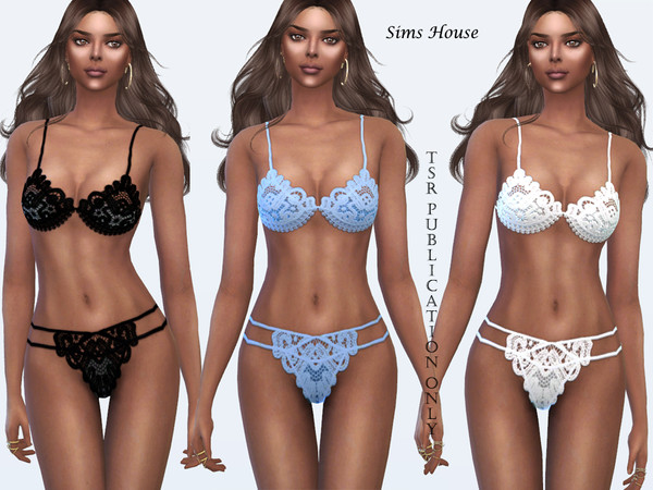 Lace bra by Sims House