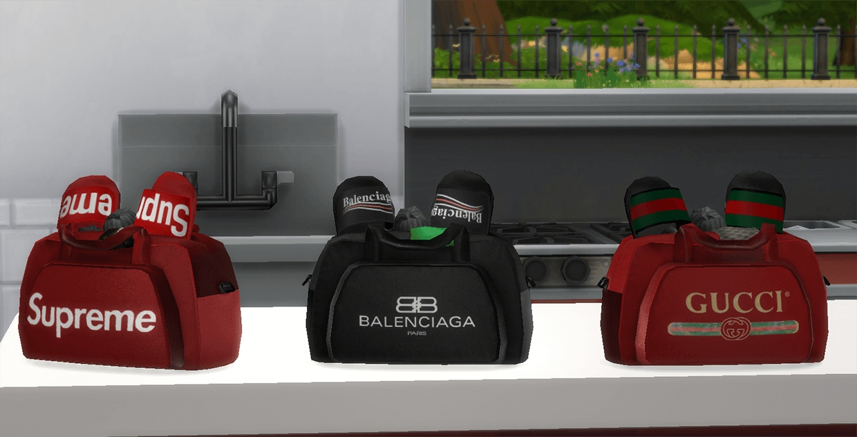Designer Gym Bags by GuttaSims