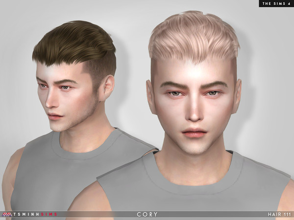 Cory ( Hair 111 ) by TsminhSims