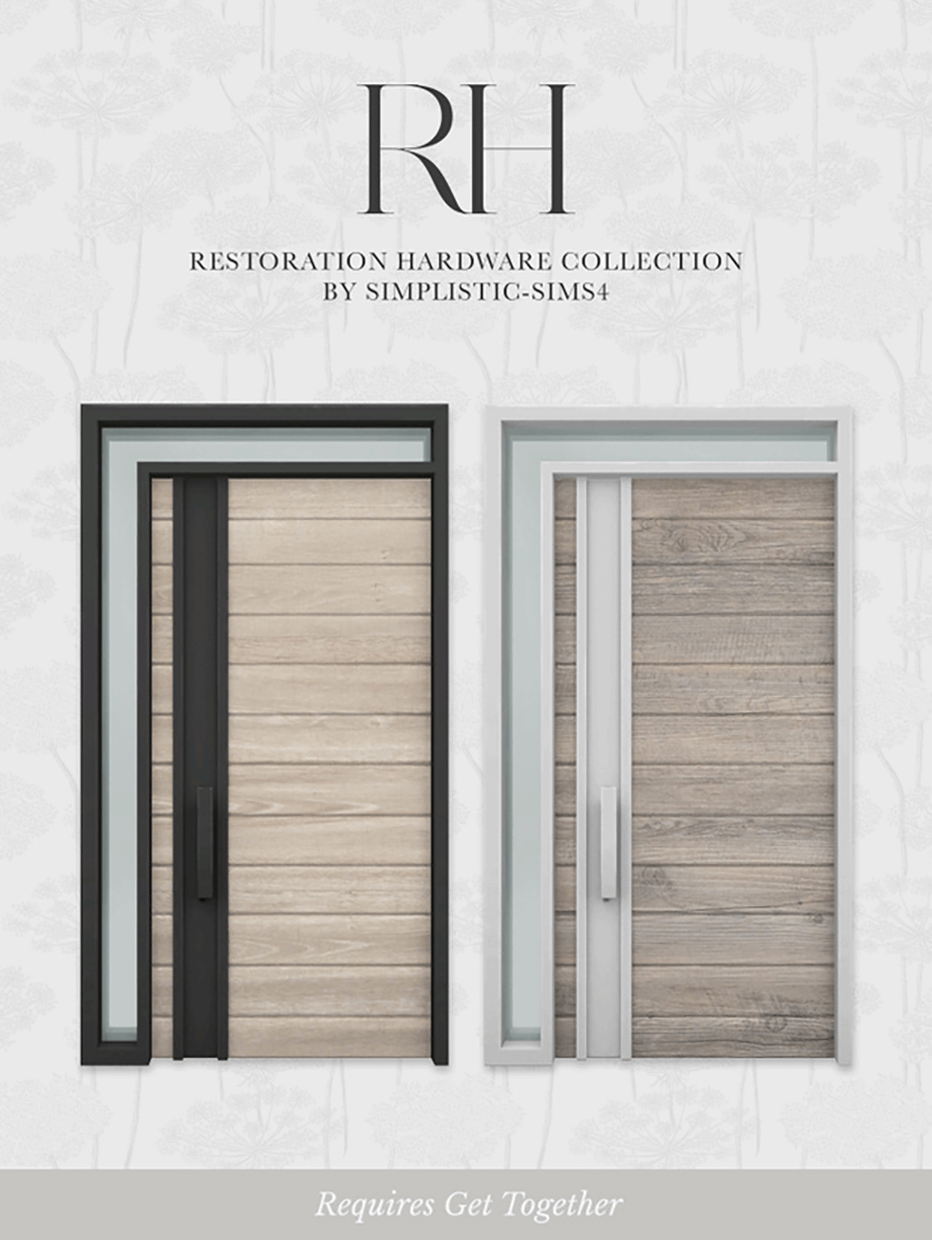 RH Front Door by SimPlistic