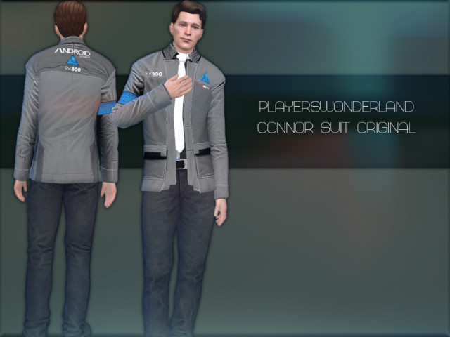 Detroit: Become Human - Connor Suit Original by PlayersWonderland