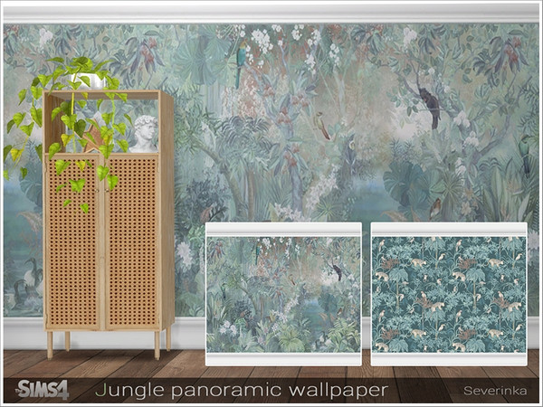 Jungle panoramic wallpaper by Severinka