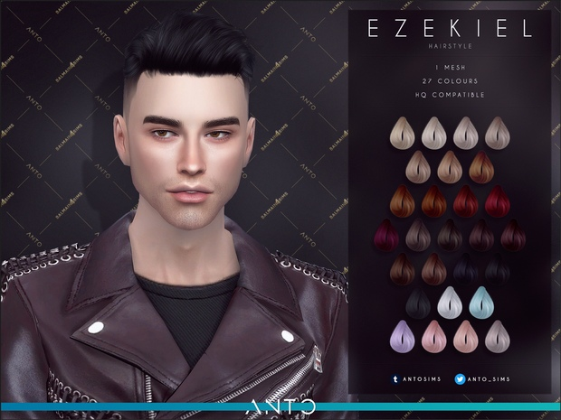 Ezekiel Hairstyle by Anto