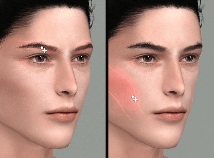 Face Sliders by Obscurus