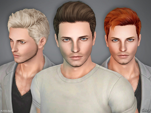 Male Hairstyles - Sims 3 by Cazy