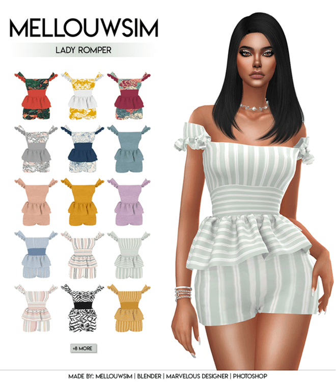 Lady Romper by MellouwSim