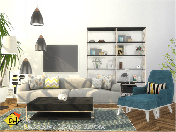 Brittany Living Room by Onyxium