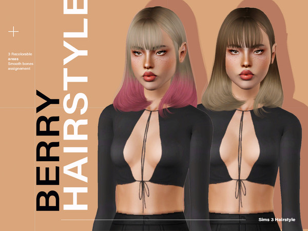 Berry Hair by Leah Lillith