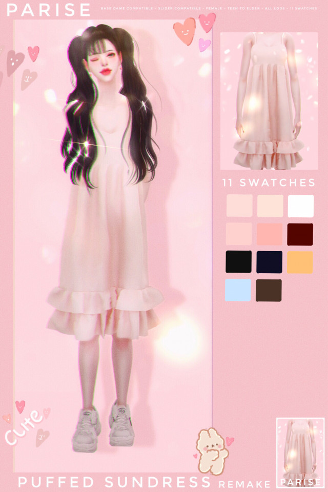 Puffed Sundress Remake by Parise