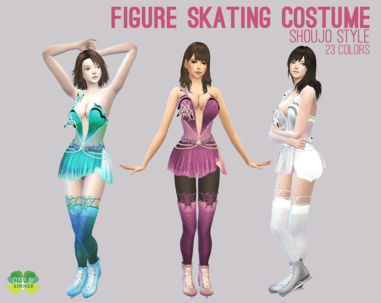 Figure Skating Costume by Cosplay Simmer