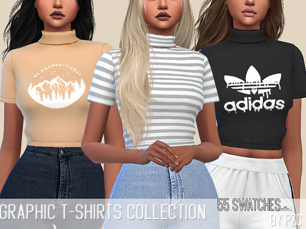Graphic T-shirts Collection(mesh required) by Pinkzombiecupcakes