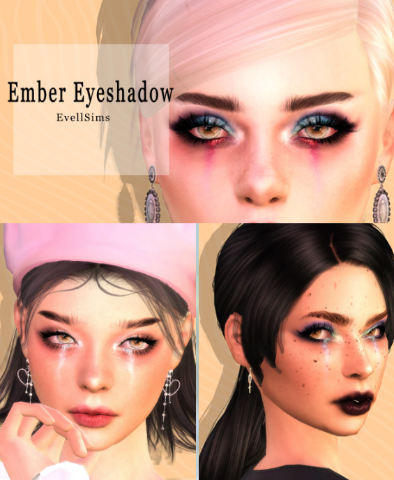 Ember Eyeshadow by evellsims