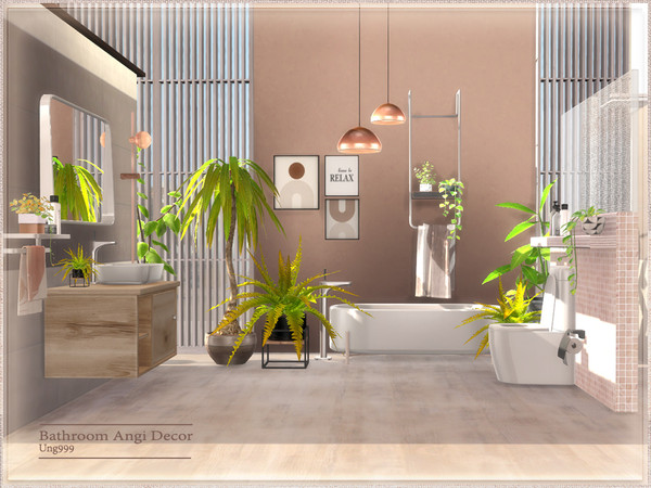 Bathroom Angi Decor by ung999