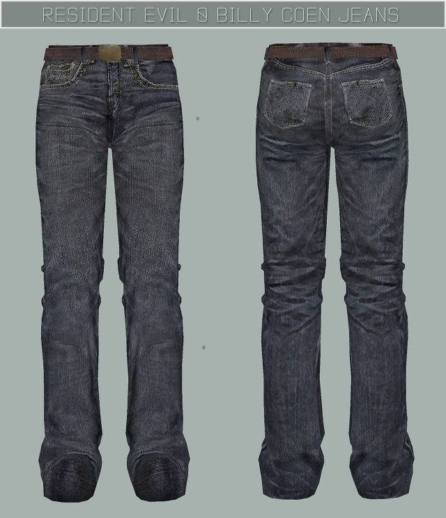 RESIDENT EVIL 0 Billy Coen Jeans by Thornsofpeace (jesod-sims)