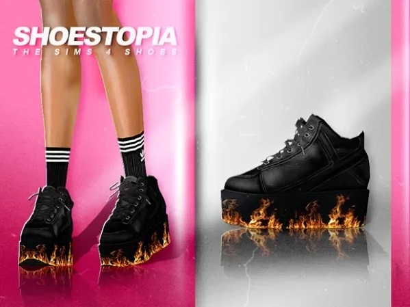 Burn it up boots by Shoestopia