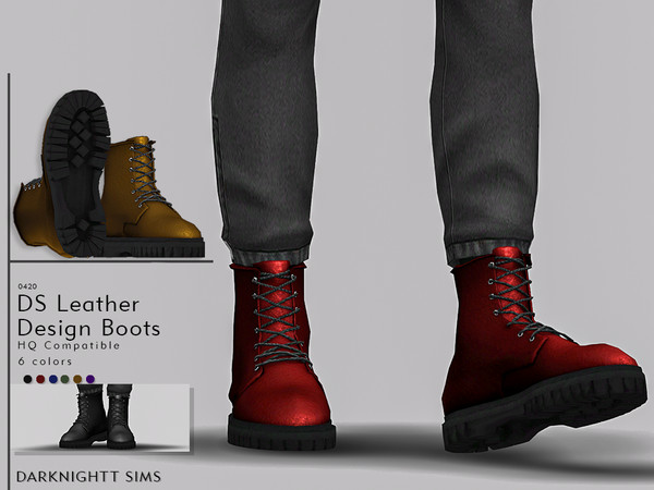 DS Leather Design Boots by DarkNighTt