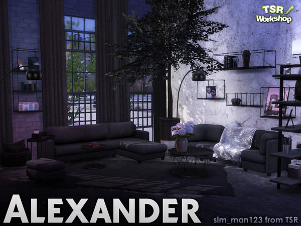 Alexander Living - Deco by sim_man123