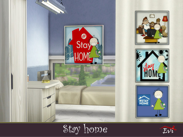 Stay Home by evi